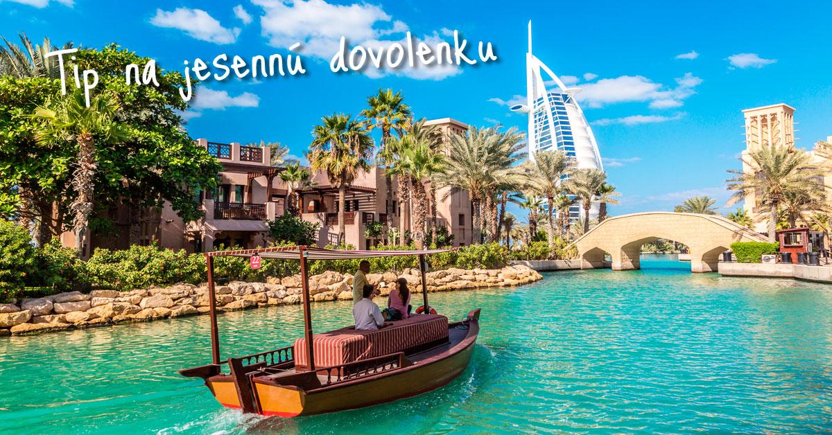 Dubaj - z pláže rovno na lyže